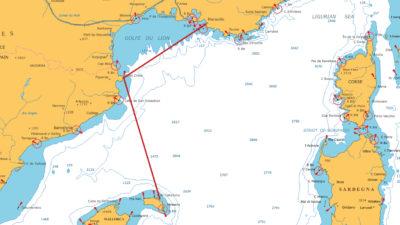 Stage voile traversée Marseille Minorque (Baléares) - Embarquement voilier Méditerranée
